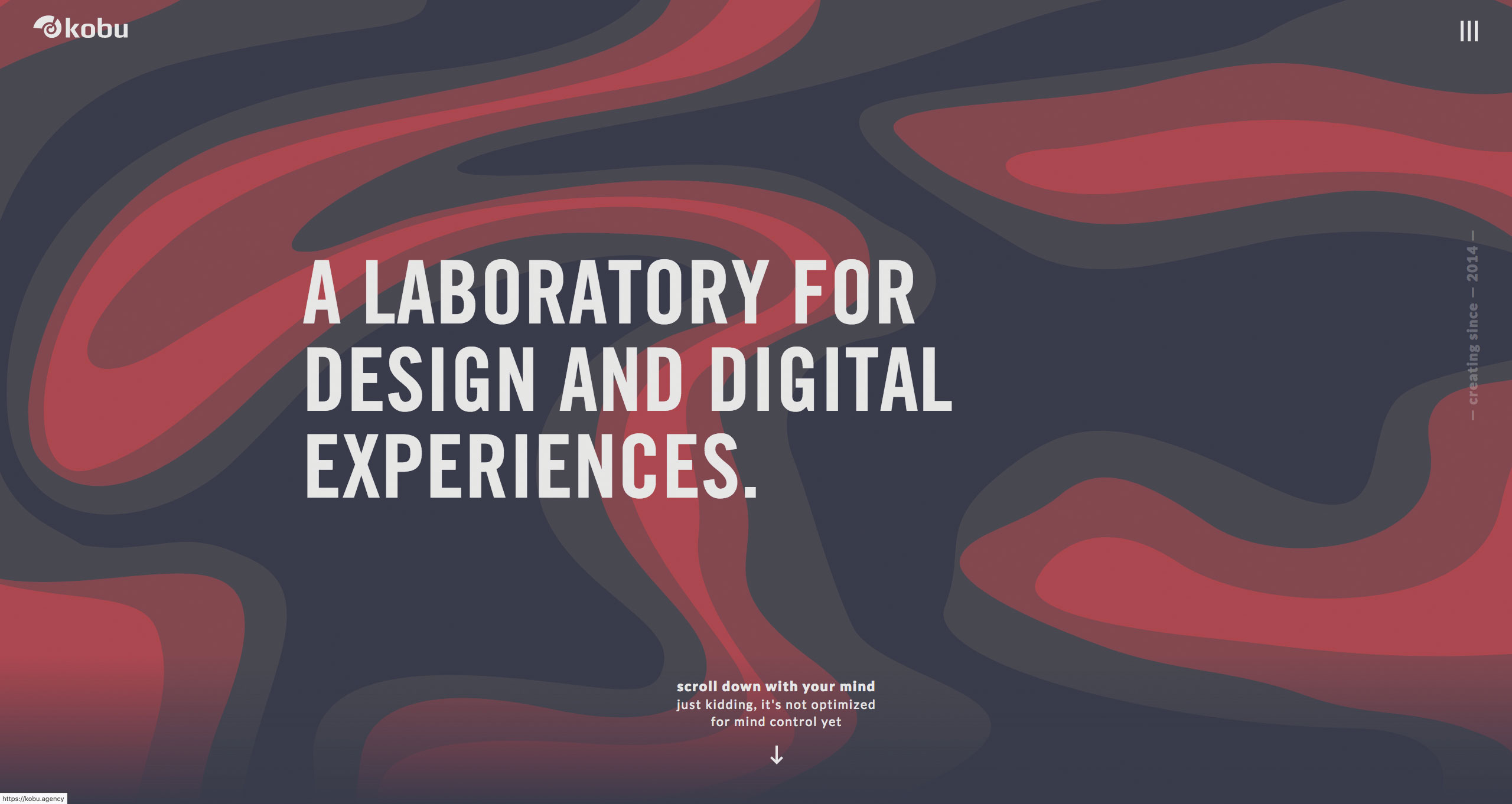 WordPress websites: KOBU creative agency