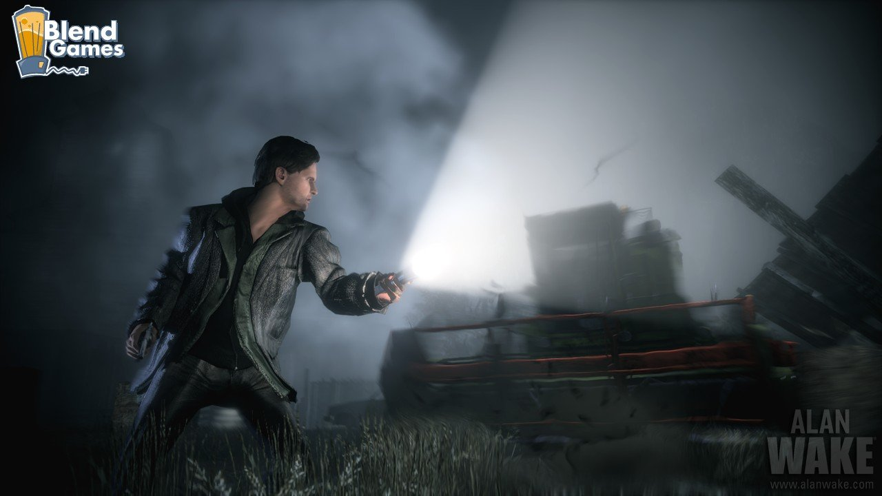Alan Wake Screenshots Are All About The Flashlight #11188