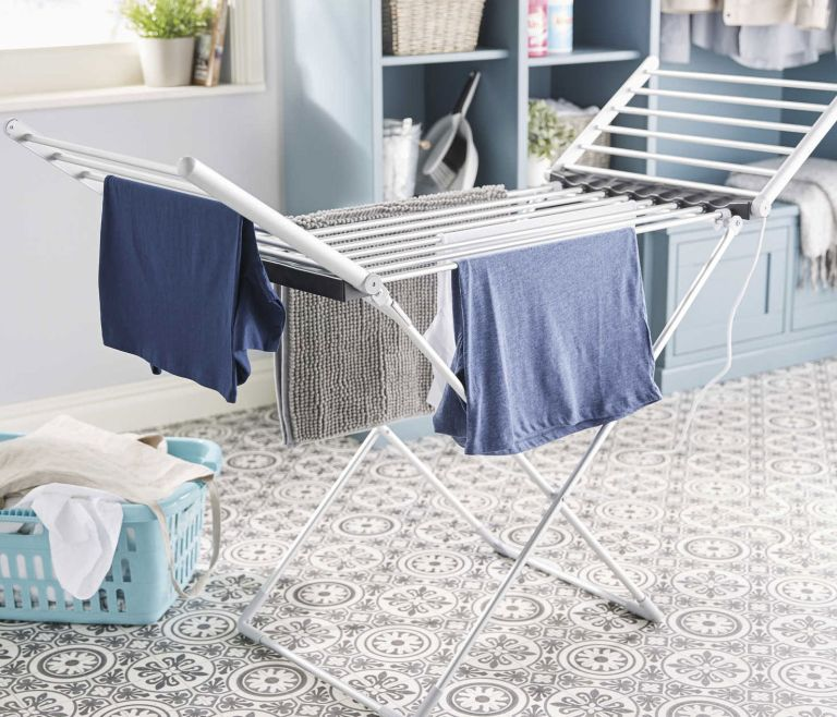 Aldi heated clothes airer