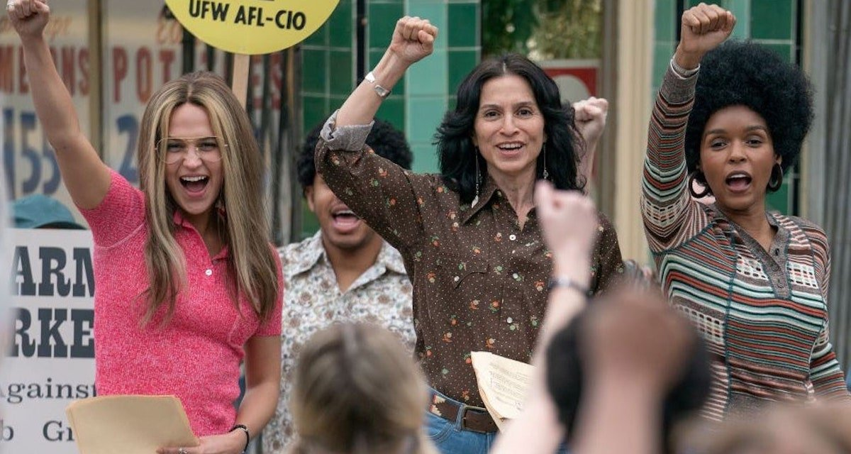 The Glorias Review: An Artistic And Eye-Opening Biopic Befitting Gloria Steinem