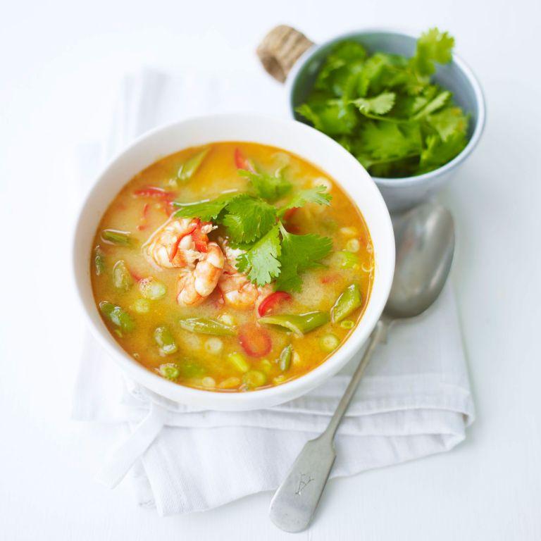 Tom Yum Soup recipe-Soup recipes-recipe ideas-new recipes-woman and home