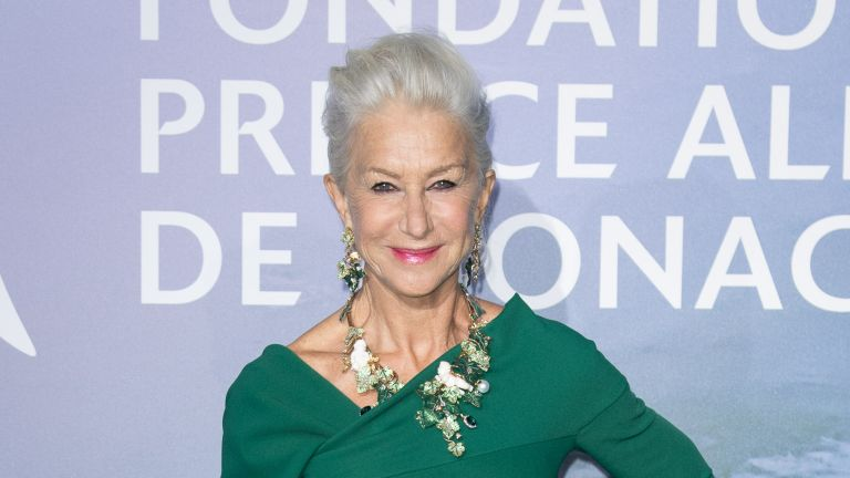 Helen Mirren attends the Monte-Carlo Gala For Planetary Health on September 24, 2020 in Monte-Carlo, Monaco