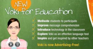 Voki Creates an Education Site... Twenty Ways To Integrate Talking Avatars In The Classroom by Michael Gorman