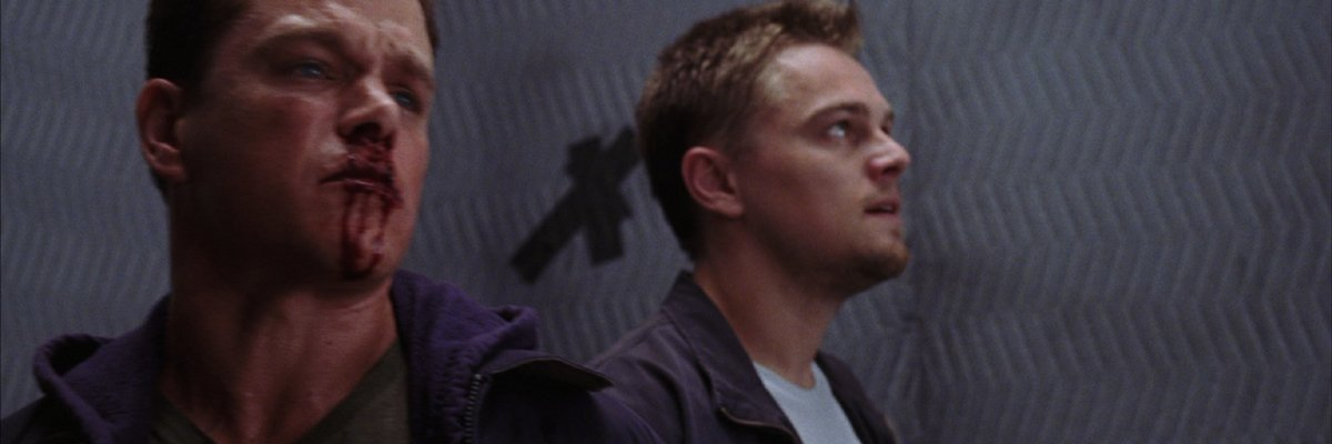 Billy Costigan with X in The Departed
