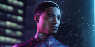 Miles Morales in the Spider-Man video game