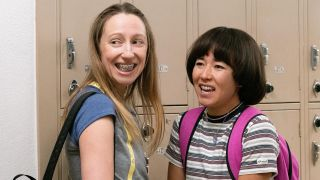 Anna Konkle as Anna Kone and Maya Erskine as Maya Ishii-Peters in Hulu's Pen15