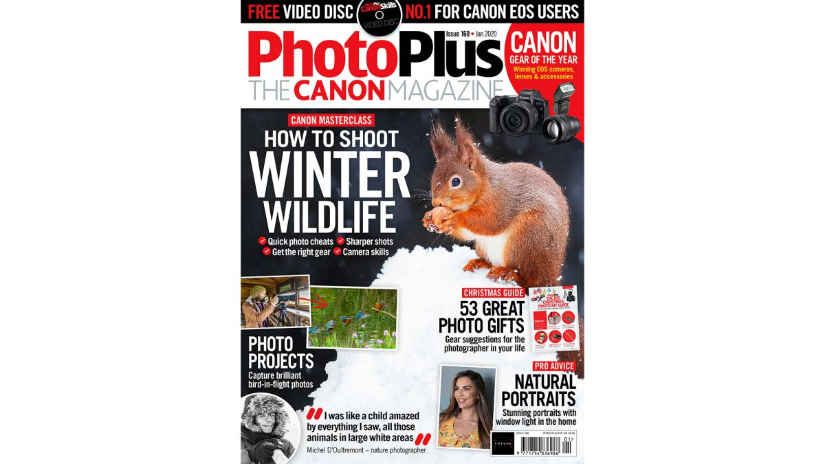 The new issue of PhotoPlus: The Canon Magazine now on sale!
