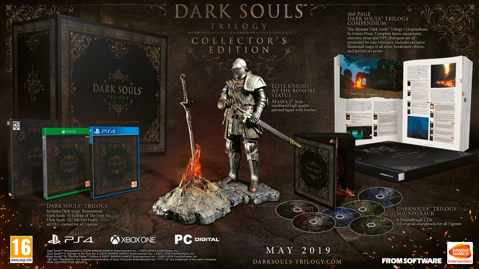$580/£450 Dark Souls Trilogy collector's edition comes with ... on
