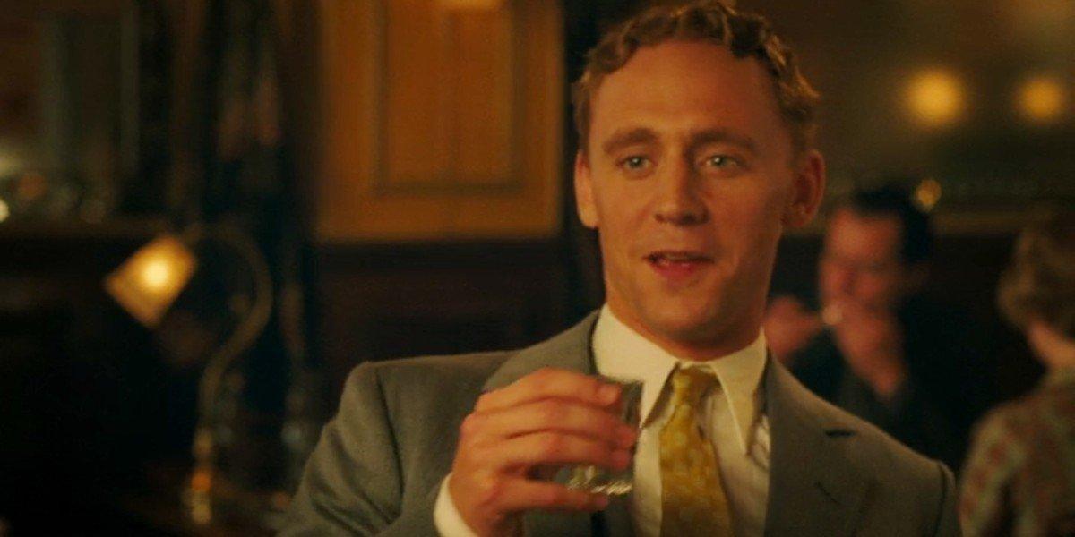 Tom Hiddleston as F. Scott Fitzgerald in Midnight in Paris