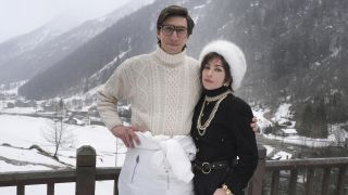 """Adam Driver and Lady Gaga in """"House of Gucci."""""""