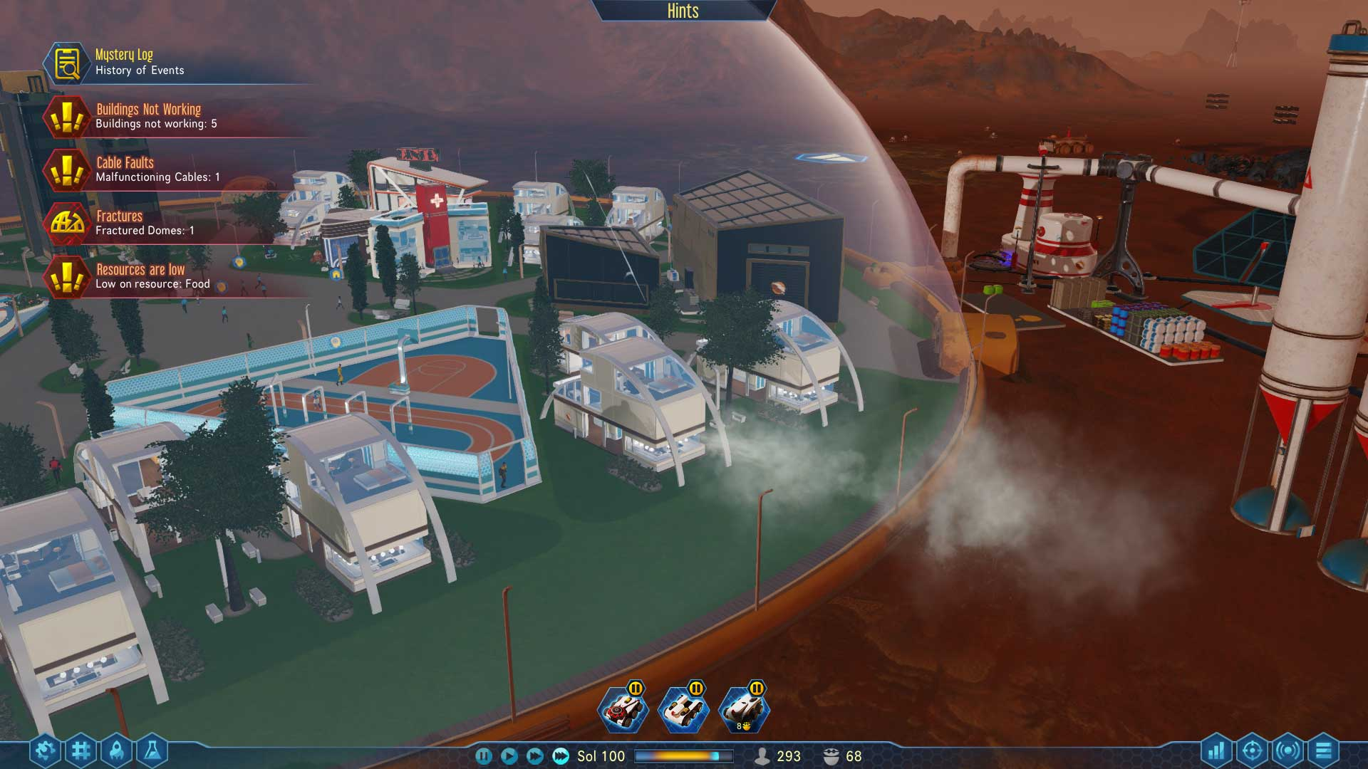 Here's what a late-game colony looks like in Surviving Mars | PC Gamer