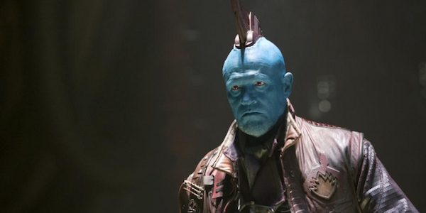 Yondu with his large fin in Guardians 2