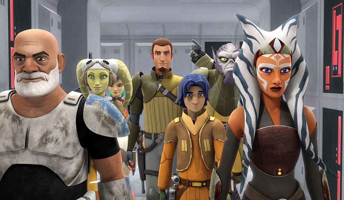 star wars rebels ghost crew rex ahsoka