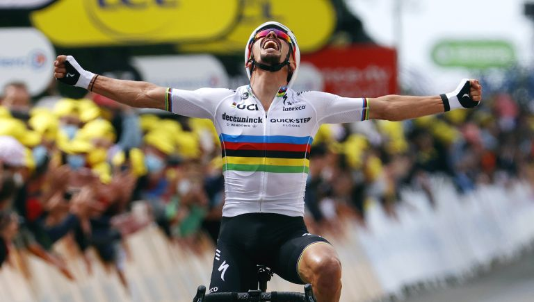 Julian Alaphilippe wins stage one of the Tour de France 2021
