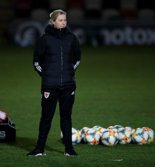 Wales v Belarus – UEFA Women's Euro 2021 Qualifying – Group C – Rodney Parade