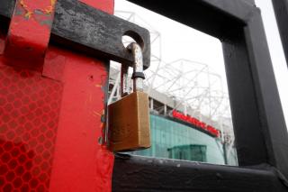 Old Trafford lockdown Man Utd Premier League