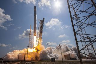 Falcon 9 Launches Communications Satellites, June 15, 2016
