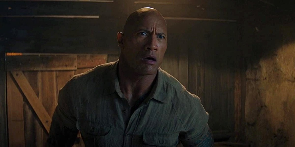 The Rock in Jumanji: The Next Nevel
