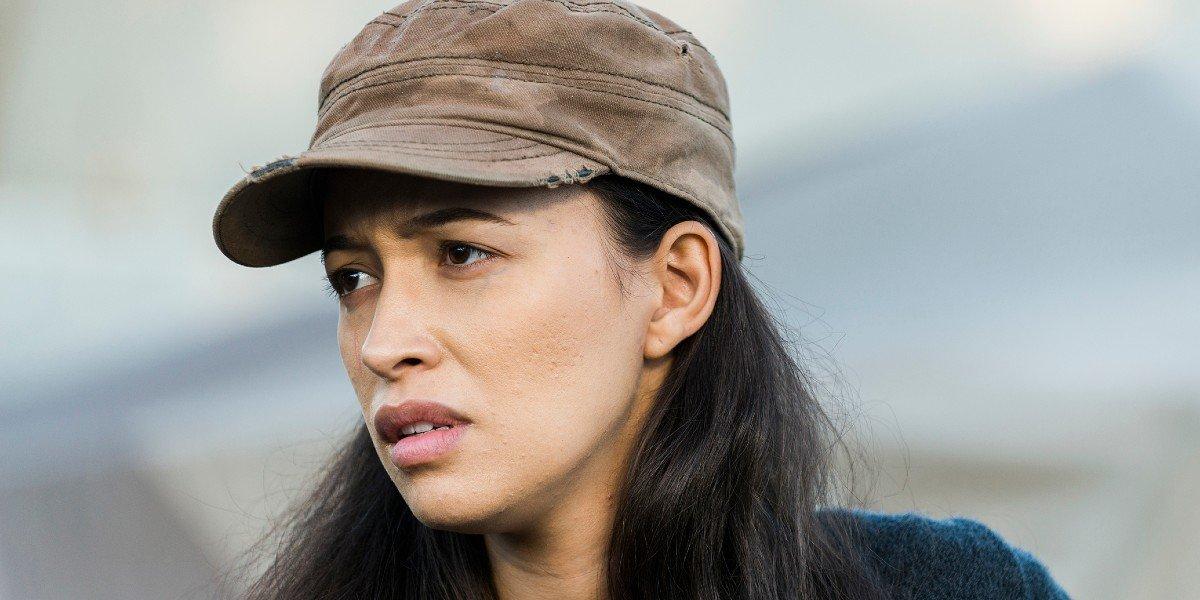 Christian Serratos as Rosita in The Walking Dead