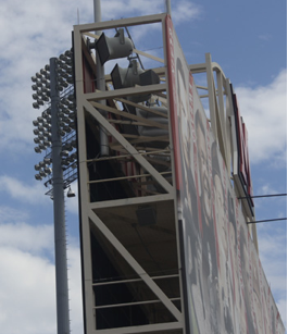 New Audio System Adds Excitement at Yager Stadium