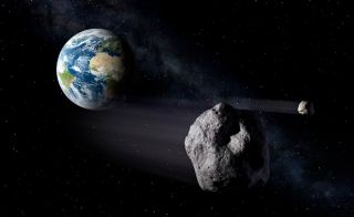 Asteroids headed toward Earth