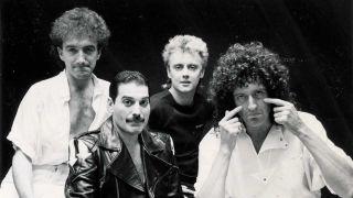Queen in May 1985