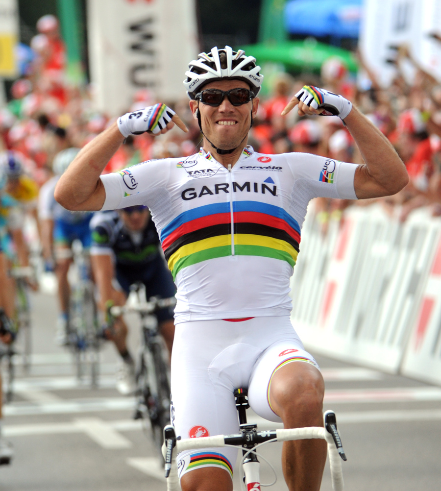 Thor Hushovd wins, Tour de Suisse 2011, stage four