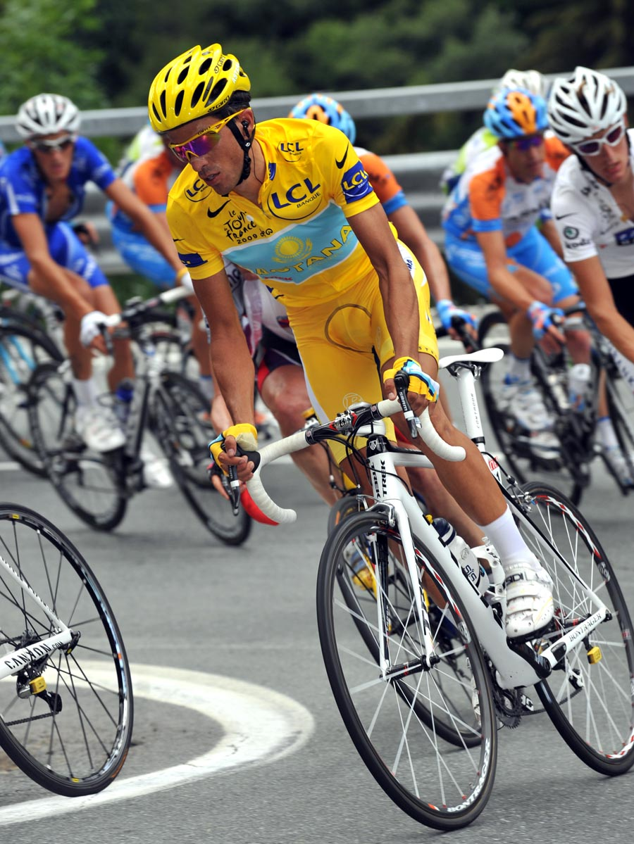 Alberto Contador, Tour de France 2009, stage 16