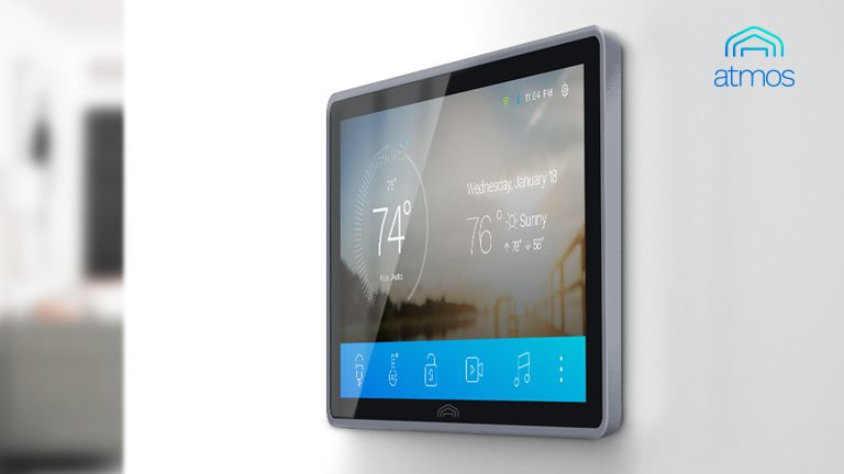The Atmos Smart Home Control System is a real Iron Man's Jarvis panel