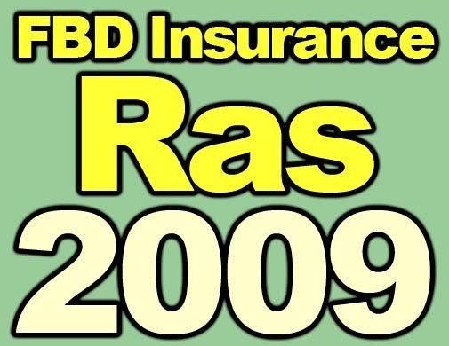 FBD Insurance Ras 2009 logo