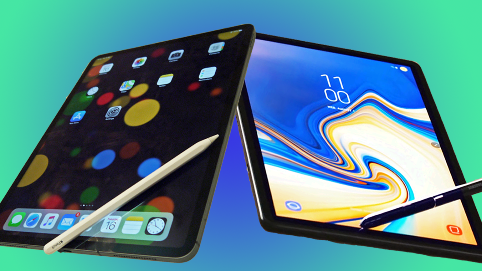 Ipad Pro 12 9 2018 Vs Samsung Galaxy Tab S4 What S The Best Premium Tablet Available Now Techradar