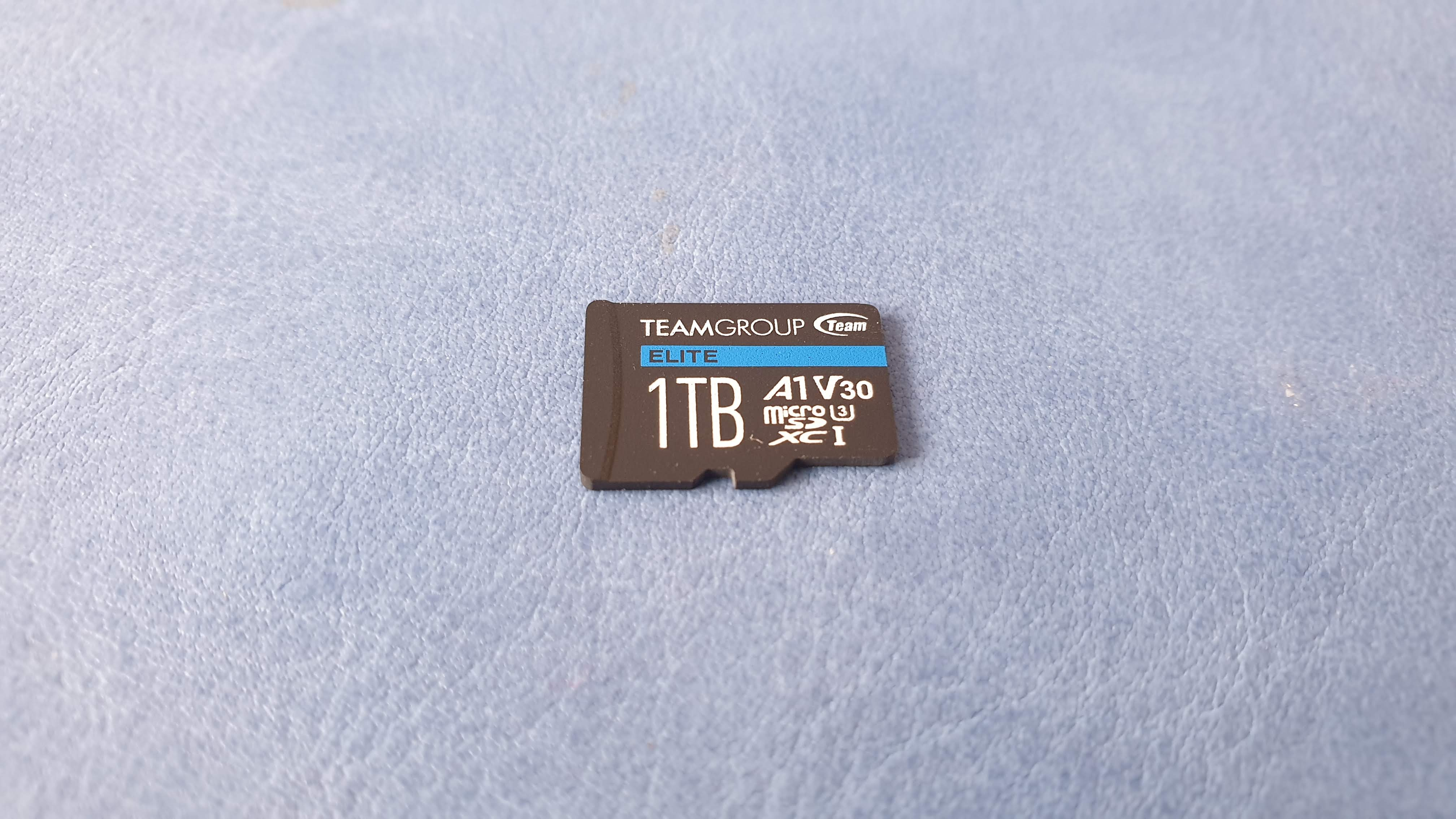 Teamgroup 1TB Elite A1 microSD card