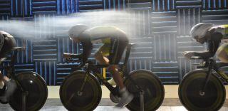 Monash Wind Tunnel training, cycling