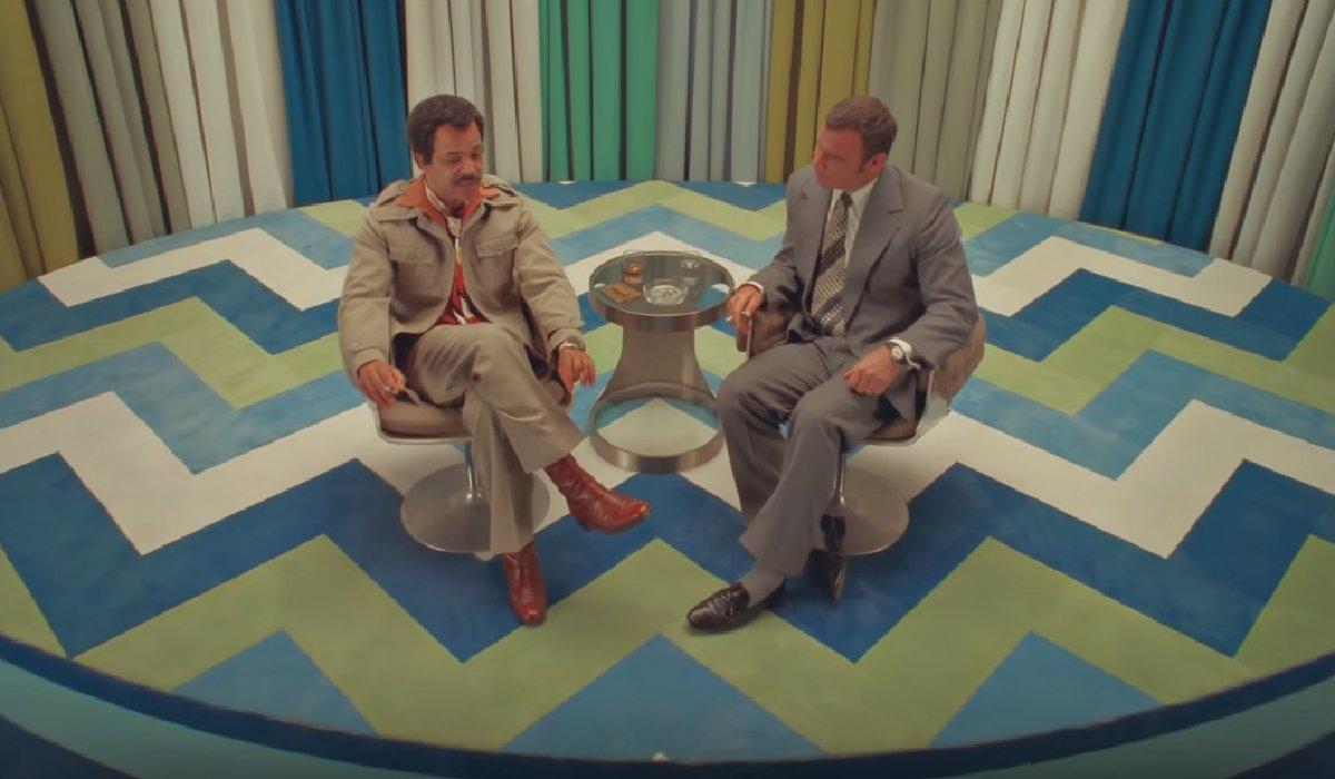 The French Dispatch Jeffrey Wright and Liev Schreiber in conversation