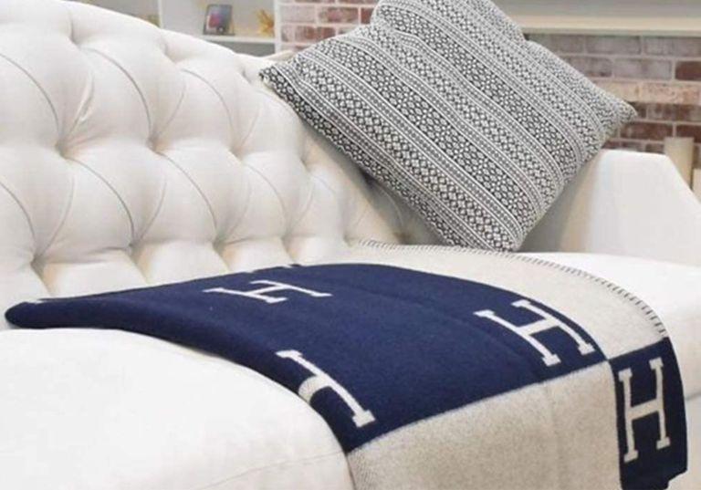 Hermès blanket from amazon