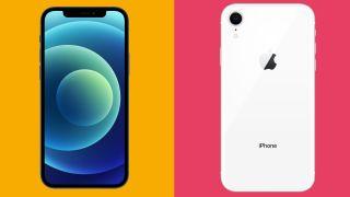iPhone 12 vs iPhone XR