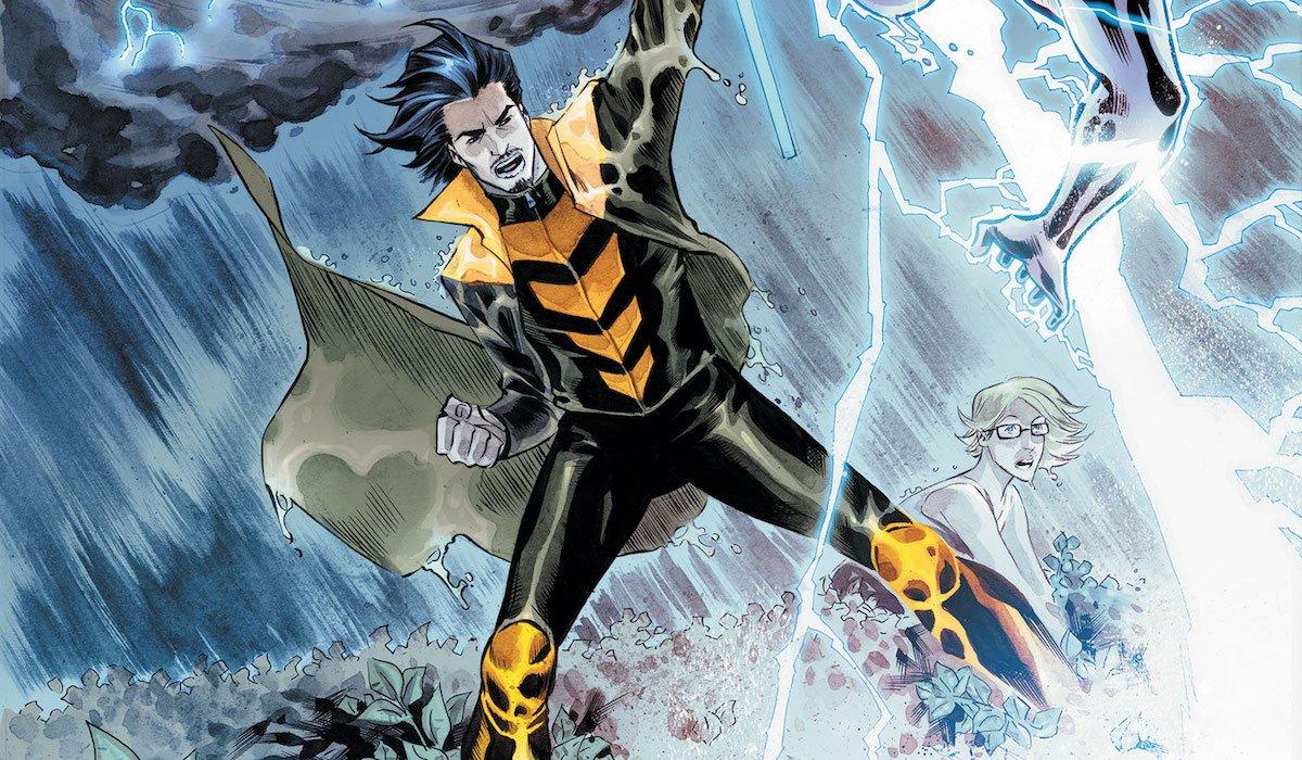 Weather Wizard DC Comics