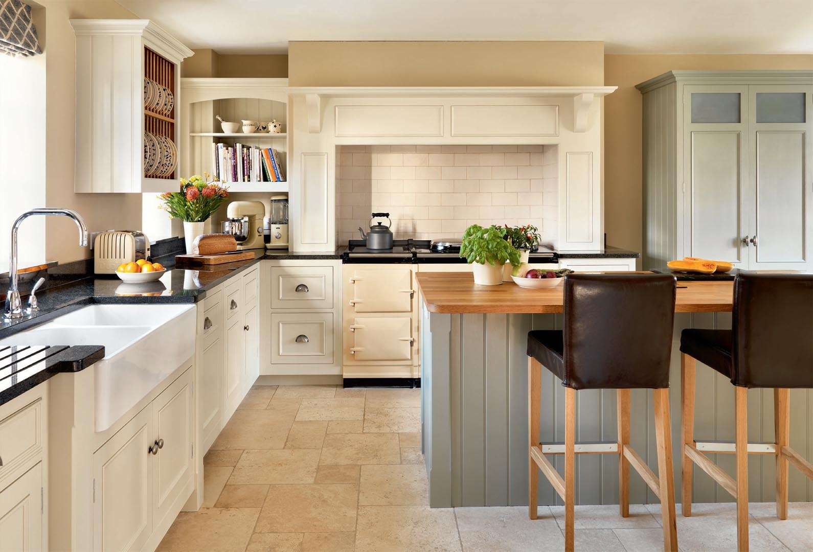 an open plan kitchen with a pantry   real homes  rh   realhomes com