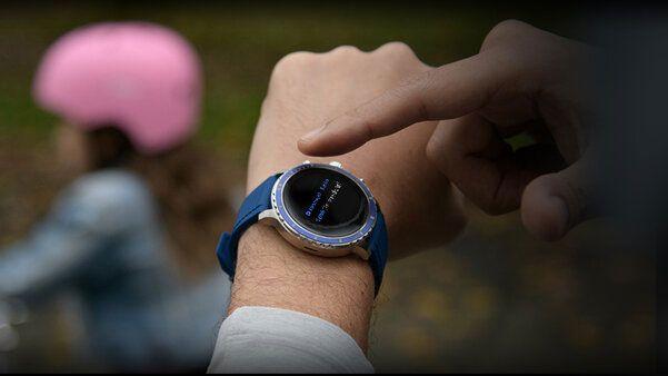 A premium watchmaker just made its first smartwatch, running Wear OS