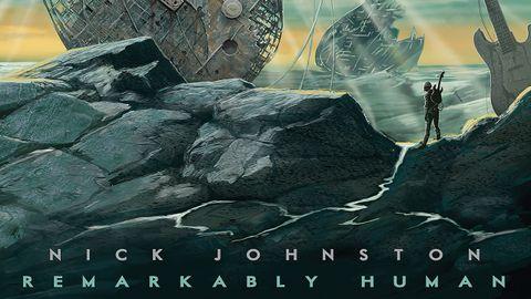 cover art for Nick Johnston Remarkably Human