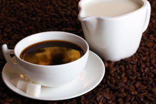 coffee, milk, sugar