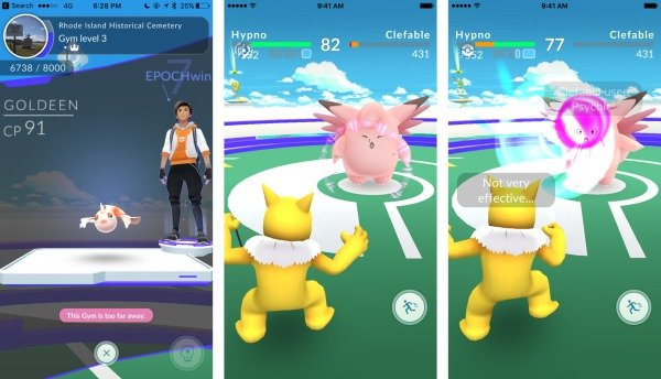 What Happens At The Gym In Pokemon GO? - CINEMABLEND
