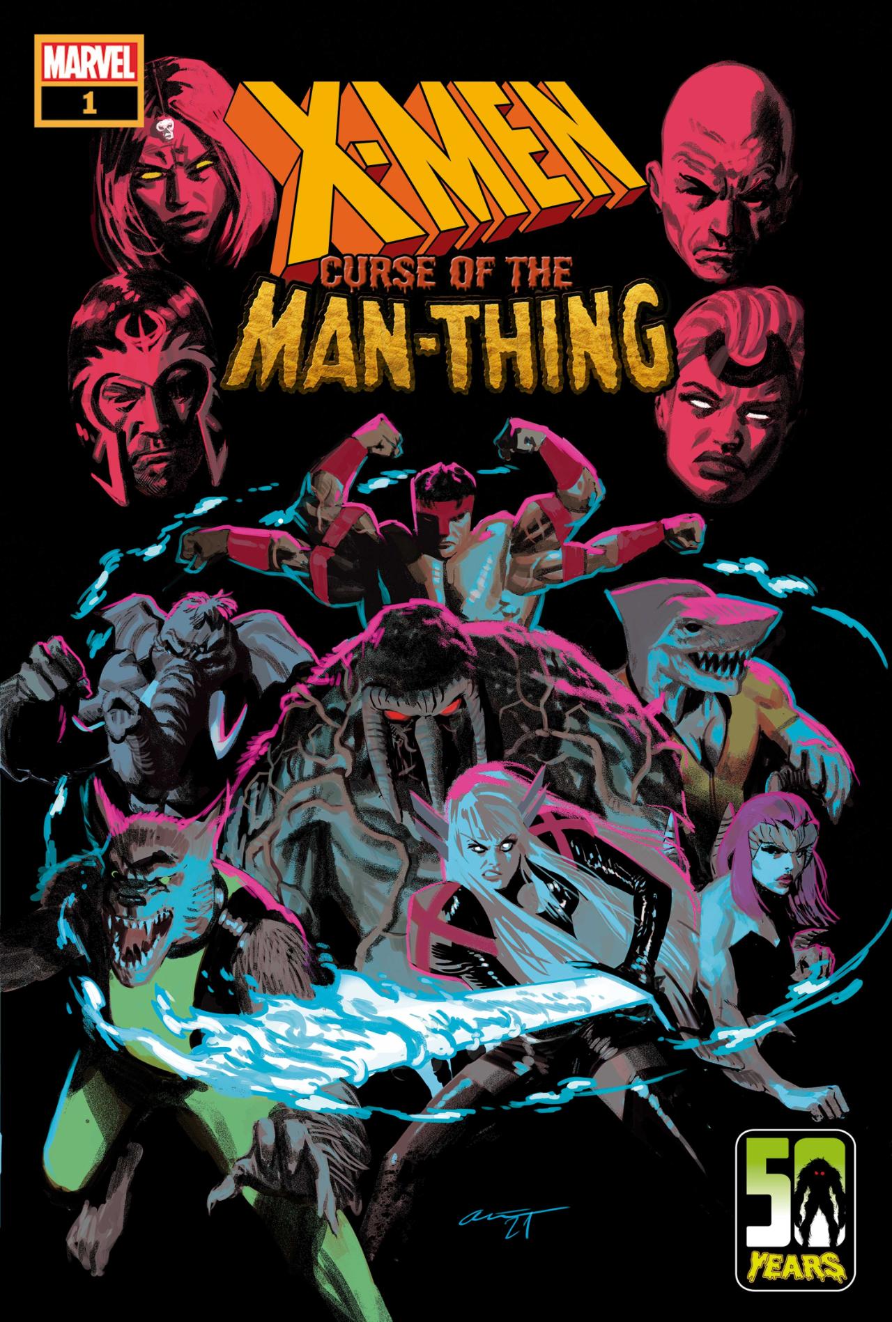 X-MEN: LA MALDICIÓN DEL HOMBRE # 1