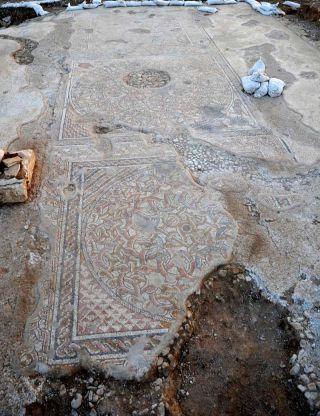 byzantine mosaic from the byzantine period
