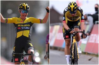 Marianne Vos and Wout van Aert won the 2021 Amstel Gold races