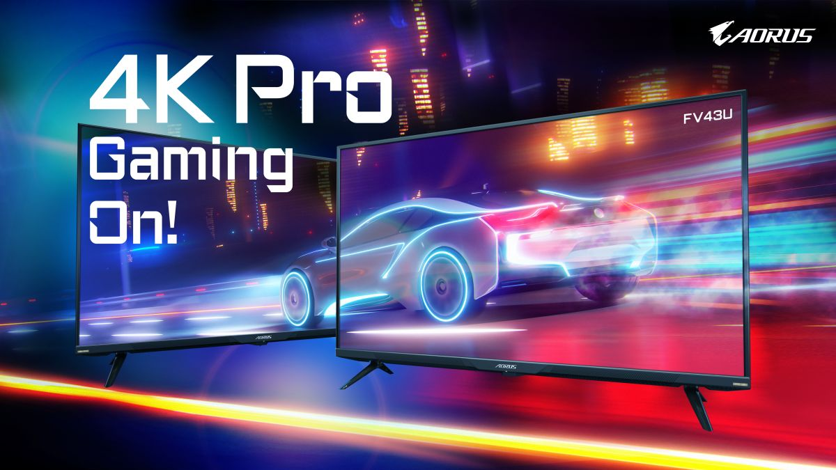 Give yourself the ultimate 4K treatment with the latest Gigabyte gaming monitors