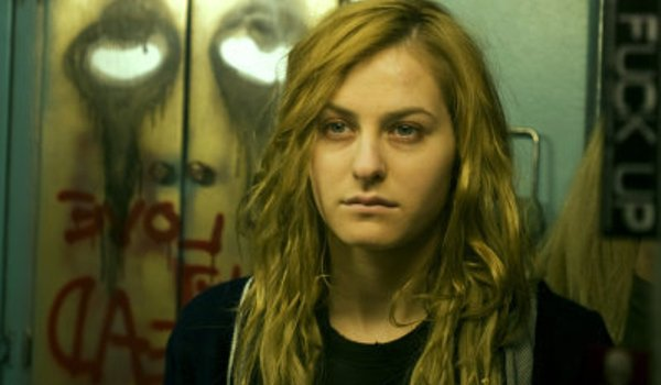 Halloween II (2009) Scout Taylor-Compton Laurie Strode zoned out in the mirror