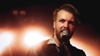 Einar Solberg from Leprous live on stage