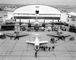 space history, NACA, test aircraft