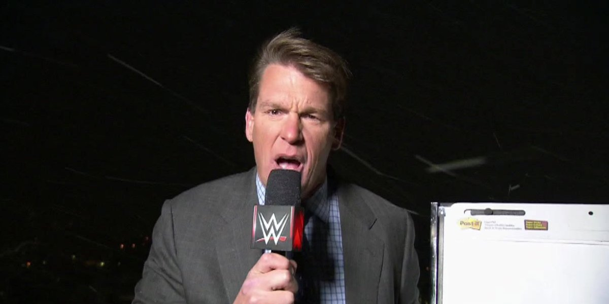 John Bradshaw Layfield on Monday Night Raw